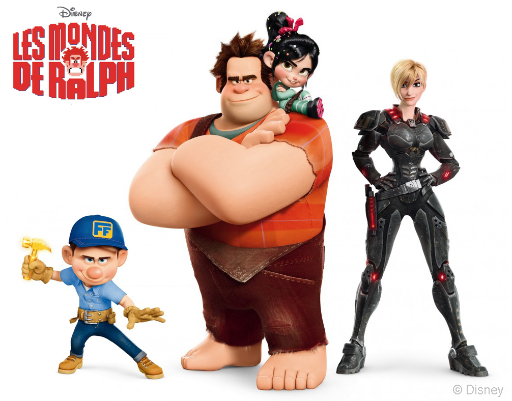 wreckitralph-poses