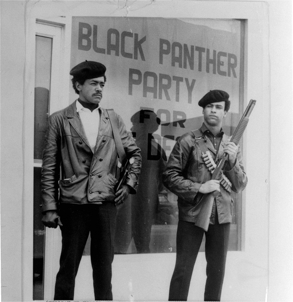 Black-Panther-Party-founders-Bobby-Seale-Huey-Newton-by-AP