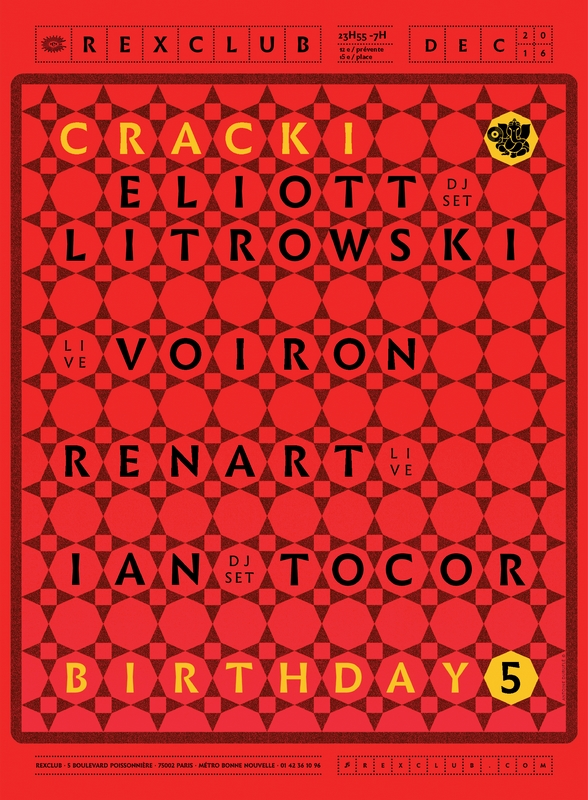 Cracki Records b-day 5 ans - Rex Club 16.12 web