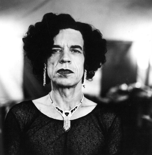 Mick Jagger, 1996. Photo by Anton Corbijn