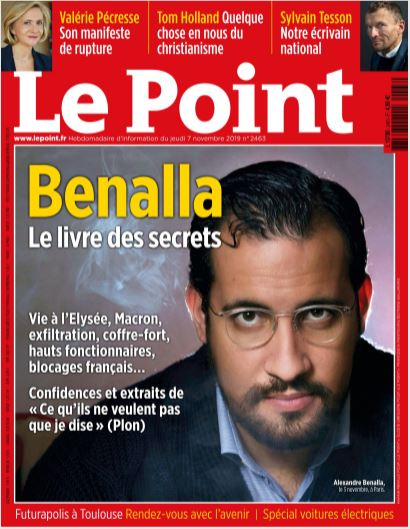 Brain Magazine Page President Benalla Dans Le Point
